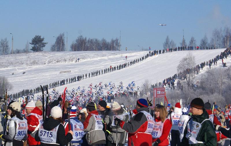 Московская Лыжня 2010. Вперёд и выше