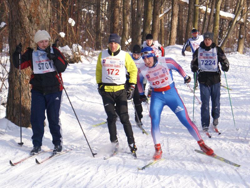 Московская Лыжня 2010. Бежим вместе с мастерами
