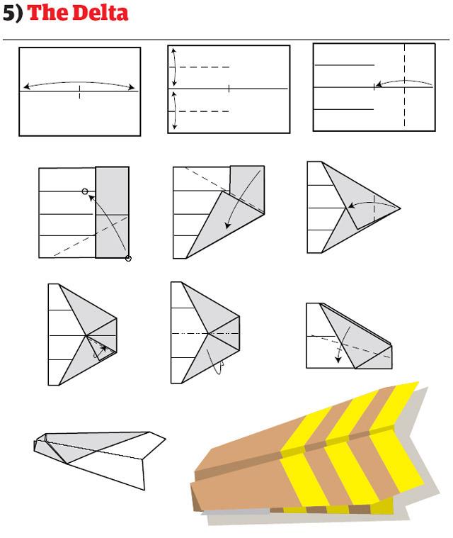 Как сделать из бумаги флай